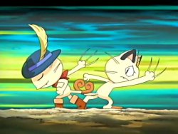 Ever Grande City Arrival! Meowth in Boots!?