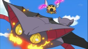 Pokemon Season 13. Episode #655 - A Real Rival Rouser