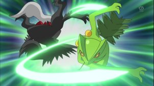 Sinnoh League Semi-Final! Darkrai Appears!