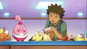 Pokemon Season 13. Episode #658 - The Brockster Is In