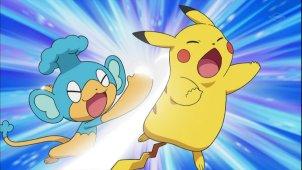 Pokemon Season 14. Эпизод №664 - Грозная тройка лидеров