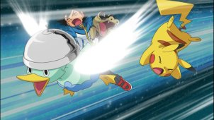 Pocket Monsters Best Wishes. Episode #020 - Pikachu vs Meguroco vs Koaruhie!