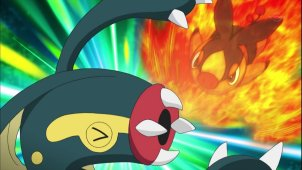Ash & Cilan VS The Subway Bosses!