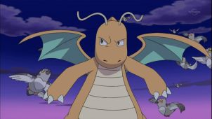 Iris & The Roughneck Dragonite!