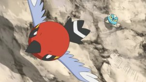 Froakie VS Fletchling! Air Maneuver Battle!!