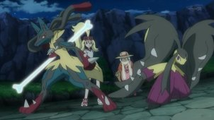 Mega Lucario VS Mega Mawile! The Mega Evolution Bond!!