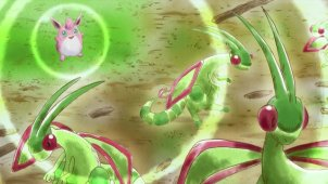 The Clumsy Wigglytuff VS the Rampaging Salamence!!