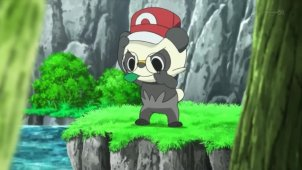 Serena Catches Her First Pok�mon!? Pancham VS Fennekin!!
