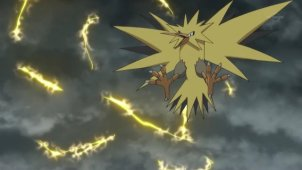 Zapdos and Noivern! A Furious Strike of Lightning!!