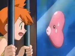 Misty & Luvdisc! Love Battle!