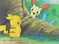 Episode 328: Plusle & Minun! Road Assistance!
