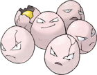 Exeggcute Art