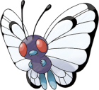 Butterfree Art