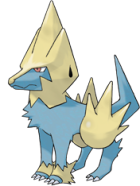 Manectric Art
