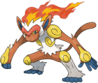 Infernape Art