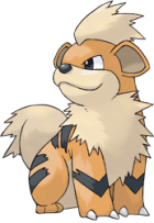 Growlithe Art