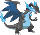 Mega Charizard X Artwork