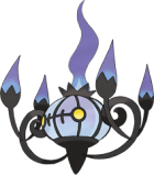 Chandelure Art