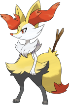 Braixen Art