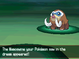 Pokémon Black & White - Mamoswine