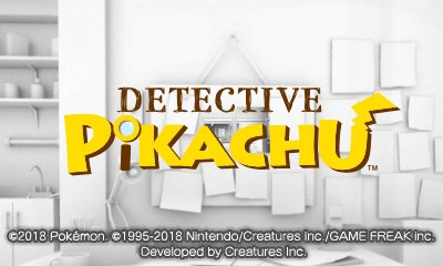 Detective Pikachu ~Birth of a New Duo~