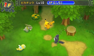 Pokémon Mystery Dungeon Demo