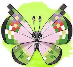 10000000 Fancy Pattern Vivillon