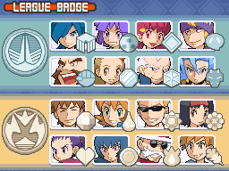 HG SS Gym leaders + elite four