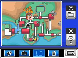 Pokémon HeartGold & SoulSilver Pokegear-johto