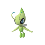 Celebi New Pokémon Snap Sprite
