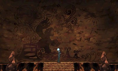 A cave painting in Omega Ruby