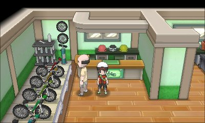 Pokemon Omega Ruby Alpha Sapphire Bicycle