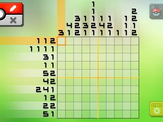 Pok mon picross location listings area 14 for Pokemon picross mural 2