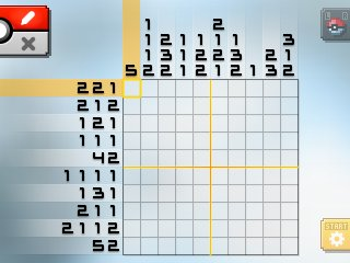 Pok mon picross location listings area 22 for Picross mural 1