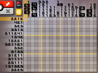 Pok mon picross location listings area 23 alt world for Picross mural 1