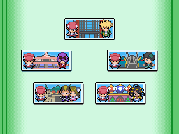 Pokémon Platinum - Battle Frontier Brains