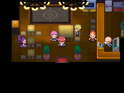Pokémon Platinum - The Top Trainer Cafe