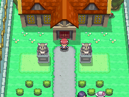 Pokémon Platinum - The Trophy Garden