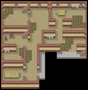 Pokemon Mansion - 2F