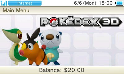 Pok�dex 3DS