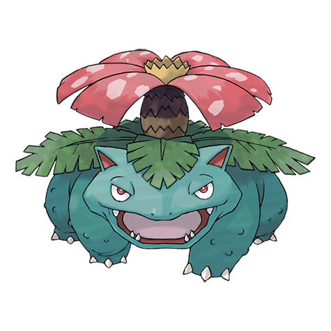 Venusaur Artwork