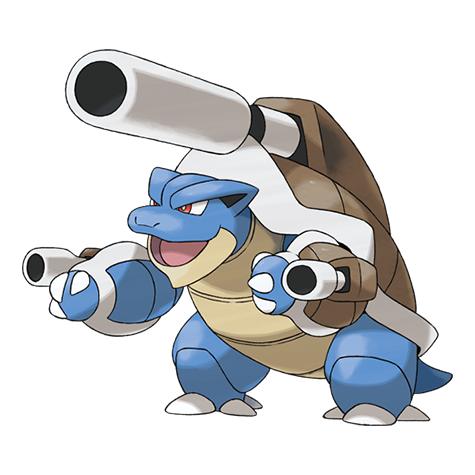 Mega Blastoise Artwork