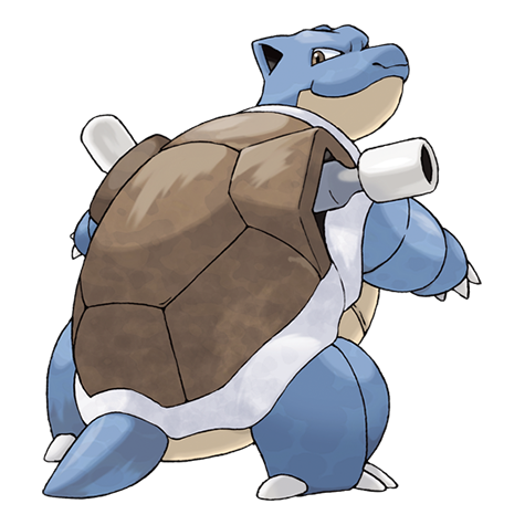 Blastoise Artwork