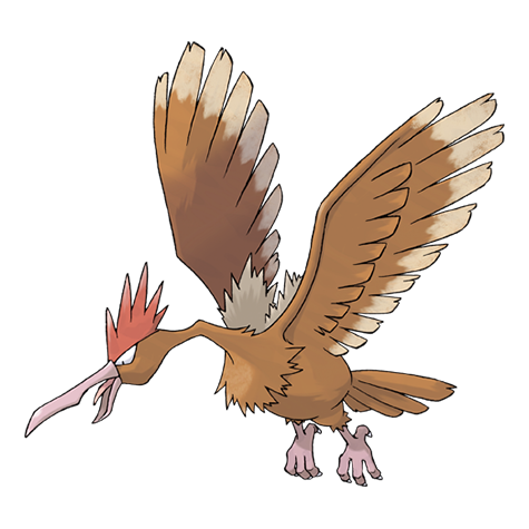 Fearow Artwork