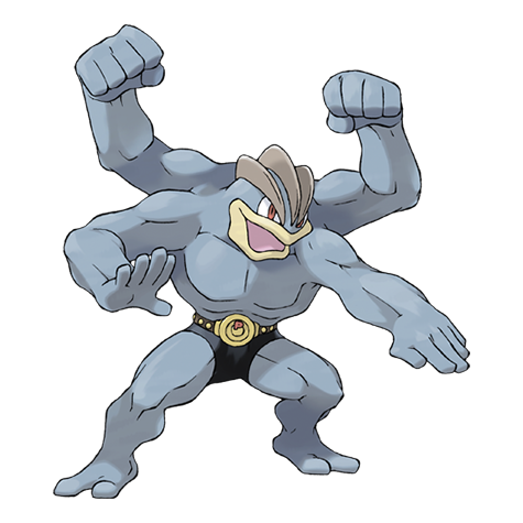 Machamp Artwork