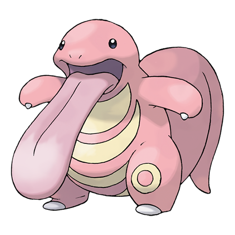Lickitung Artwork