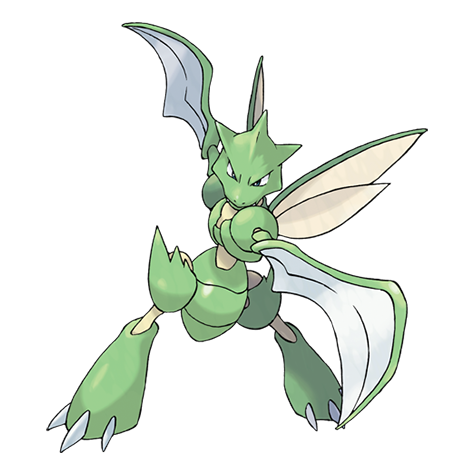 Scyther Artwork