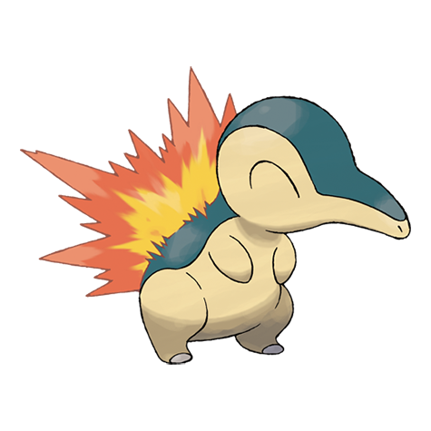 Cyndaquil Artwork