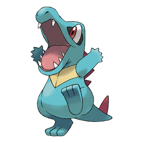 Totodile Artwork