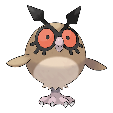 Hoothoot Artwork